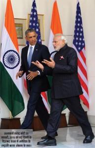 अमेरिका की पलकों पर भारत