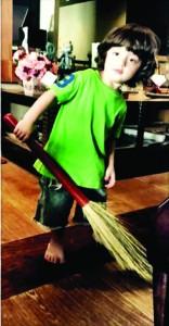 स्वच्छ भारत अभियान में अबराम