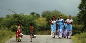 गरीबी:अशिक्षा का कारण