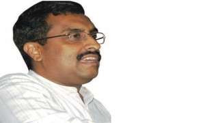 'बीजेपी और पीडीपी गठबंधन राजनीतिक या वैचारिक नहीं''- राम माधव