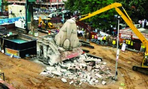 वसुंधरा राज में मंदिरों का विध्वंस!