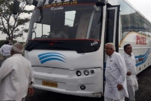 गुजरात /राज्यसभा उपचुनाव के चलते कांग्रेस ने अपने विधायकों को माउंट आबू भेजा