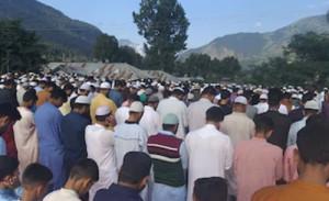 जम्मू-कश्मीर में शांति और सौहार्दपूर्ण तरीके से मनाया गया ईद-उल-अजहा का त्योहार