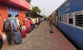 श्रमिक स्पेशल रेलगाडि़यों के जरिये रेलवे ने अबतक 31 लाख लोगों को घर पहुंचाया