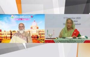 प्रधानमंत्री नरेन्द्र मोदी ने कहा है कि बांग्लादेश भारत की पड़ोस पहले नीति में प्रमुख स्तम्भ