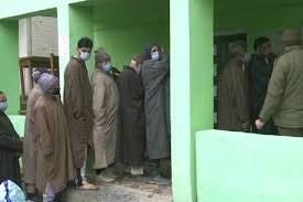 जम्मू-कश्मीर डीडीसी चुनाव : अंतिम चरण की वोटिंग जारी
