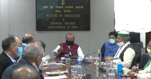 सरकार ने कहा- किसानों के कल्याण के लिए बातचीत के रास्ते हमेशा खुले; किसान प्रतिनिधियों के साथ चौथे दौर की वार्ता कल