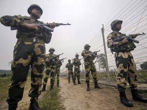 बीएसएफ ने आज तडके पंजाब में पाकिस्तान से लगी सीमा के निकट दो आतंकवादियों को मार गिराया