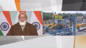 'वन नेशन, वन गैस ग्रिड' के लक्ष्य की तरफ बढ़ रहा है देश : प्रधानमंत्री