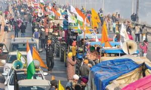 किसान आन्दोलन का अराजक रूप
